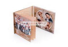 Digipack 4P z bookletem, tłoczenie płyt DVD, CD