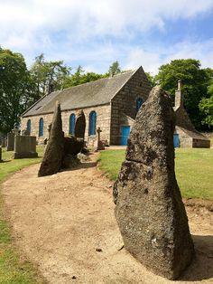 Midmar Kirk Stone Circle, Aberdeenshire, Scotland