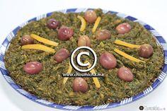 Salade épinards à la marocaine