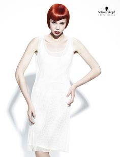 White Angles Collection (Medium). Essential Looks Spring-Summer 2013. Schwarzkopf Professional.
