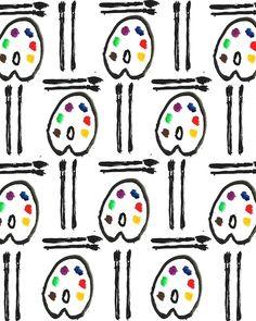 Artsy Fartsy. #pattern #illustration