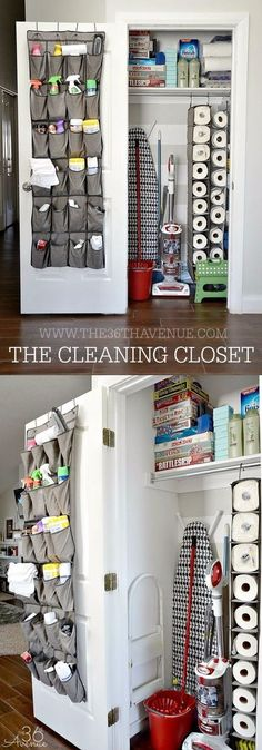 Best Organizing Ideas for the New Year - DIY Cleaning Closet Organization - Resolutions for Getting Organized - DIY Organizing Projects for Home, Bedroom, Closet, Bath and Kitchen - Easy Ways to Organize Shoes, Clutter, Desk and Closets - DIY Projects and Crafts for Women and Men http://diyjoy.com/best-organizing-ideas #organizingclutter