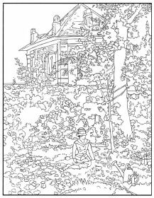 ausmalbild haus | ausmalbilder | pinterest | house, house sketch und dream house sketch