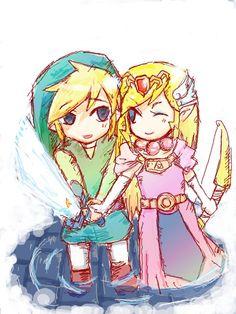 Link and Zelda