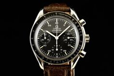 Catawiki online auction house: Omega - Speedmaster Black Dial Chronograph  -  175.00.32,175.00.33 - Men