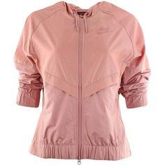 0042208bad Nike Womens NSW Windrunner Jacket Chambray