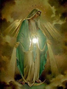 Divine Mother, Blessed Mother Mary, Blessed Virgin Mary, Catholic Veil, Catholic Art, Religious Art, Angel Pictures, Jesus Pictures, Immaculée Conception