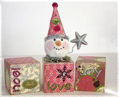 snowblock....use vintage block or antique one