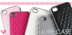 Quilted iPhone 5 Case Iphone 4 Cases, Tech Gadgets, Cool Stuff, Stuff To Buy, Technology, My Love, My Style, Gifts, Accessories