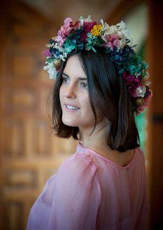 Helena se viste de fiesta | Querida Valentina, Sally para the Workshop flores