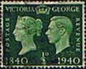 Great Britain 1940 Centenary of First Adhesive Postage Stamps Fine Used                    SG 479 Scott 252 Other British Commonwealth Stamps HERE!