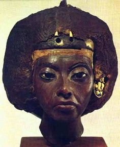 Queen Tiye (1415-1340 BC) was a celebrated Nubian queen and the beloved and honored wife of Amenhotep III, who was one of the world`s mightiest Pharaohs and conquerors.