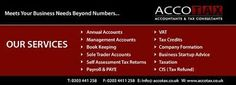 Accotax is aContractors Accountants Londonfirm that has all the experience and expertise that you want in an accountant firm to handle all your bookkeeping requirements. Our services are specially customized and tailored according to the needs of our clients and customers.We are currently working with a number of contractors from different industries, Such as IT, Designers, Locum, Engineers, Oil & gas,Management Consultant and others.