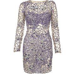 Jovani Illusion Dress ($1,715) ❤ liked on Polyvore