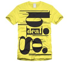 T-shirt printing & design inspiration: Typographic t-shirts