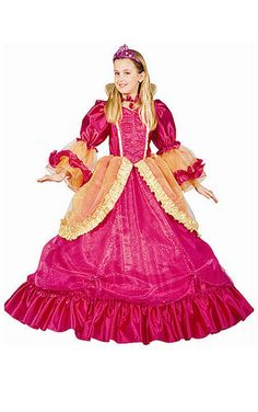 Be the most enchanting princess around! The Pretty Princess Kids Halloween Costume includes a shimmering ruffled dress and pink tiara. This charming Fairytale. Pretty Pink Princess, Pink Princess Dress, Princess Outfits, Princess Costumes, Fancy Dress Up, Girls Dress Up, Dresses Kids Girl, Fancy Costumes, Girl Costumes