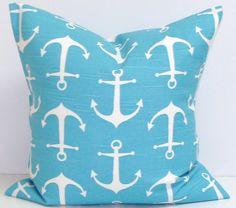 NAUTICAL Pillows.ALL SIZES Pillow by ElemenOPillows on Etsy, $14.00