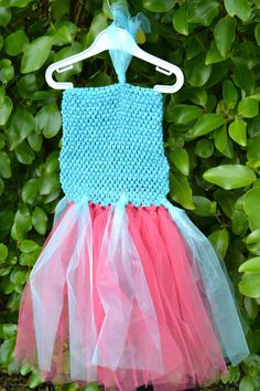 Pink Tutu Dress, Pink Tulle, Frozen, Inspired, Inspiration, Etsy, Shopping, Dresses, Products