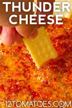 Thunder Cheese - As a dip or a spread, this packs a serious flavor wallop. Appetizer Dips, Appetizers For Party, Yummy Appetizers, Appetizer Recipes, Easiest Appetizers, Dip Recipes, Party Snacks, Recipies, Yummy Food