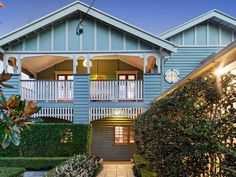 19 Jolly Street, Clayfield, Qld 4011 House Lift, House Front, My House, Exterior House Colors, Exterior Paint, House Building, Building Design, Buck Store, Front Verandah