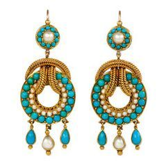 old gold turquoise jewelry - Cerca con Google