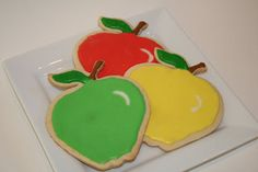 All Betz Off: Bushels of Apples Sugar Cookies