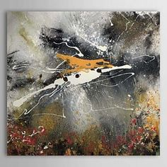 Hand Painted Oil Painting Abstract 1303-AB0324 - WallArtBox
