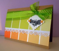 Paint Sample Card