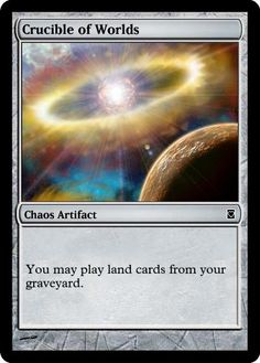 12 Best Magic Alters: Staples: Crucible of Worlds images in 2012