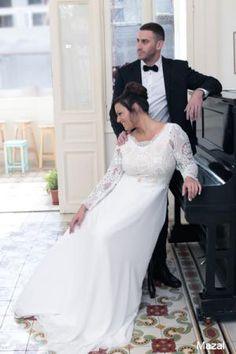 Plus size wedding gowns 2016 mazal (1)