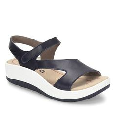 b6b2d049292ba3 Bionica by Söfft Peacoat Navy Cybele Leather Sandal - Women