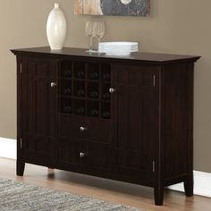 You'll love the Bedford Sideboard Buffet And Wine Rack at Wayfair - Great Deals on all Furniture  products with Free Shipping on most stuff, even the big stuff.