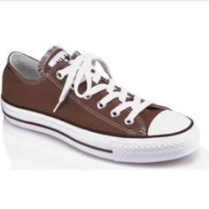 54d2acdad54d82 Brown Converse All Star Almost New Women s Size 9 Shoes are in great  condition! White is still sparkling clean and canvas is impeccable!