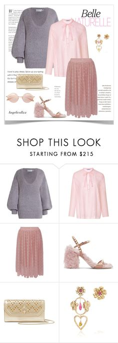 """Chunky Knits"" by angelicallxx ❤ liked on Polyvore featuring Zimmermann, Cacharel, Baum und Pferdgarten, Miu Miu, Bulgari, Rodarte and chunkyknits"