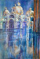 Michele CARER - peintre - toile - Aqua Alta
