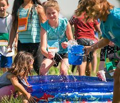Play high-energy games like Toppling Tubes and Safari Scare! Learn more about the stations of Roar VBS at Concordia Supply!