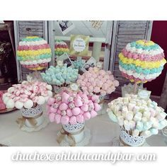 Buy small cake cases to match colour scheme instead of brown cases on Ferrero roche Wedding sweet trees Unicorn Birthday Parties, Baby Birthday, Bar A Bonbon, Sweet Trees, Chocolate Bouquet, Candy Bouquet, Candy Table, Candy Party, Partys