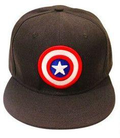 Superhero Captain America Iron Man Flash Cosplay Snapback Caps Cool  Strapback Letter Baseball Cap 26afa55ea572