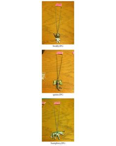 Elephant Pendant Necklaces by CandyBuckinghams on Etsy, $13.00
