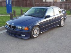 BMW Alpina is One of the Rarest and It's Up for Sale in Canada Bmw 3 E36, Bmw I, Bmw Alpina, E36 Sedan, Bmw Cars, Transportation, Audi, Pictures, Car Stuff
