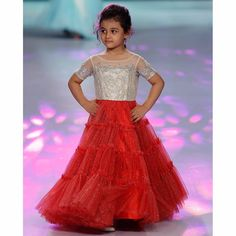 Gowns for Kids Online India – Shop latest trendy little girls frocks and gowns at Curious Village from the top brands. Check out now! Baby Boy Fashion, Kids Fashion, Buy Gowns Online, Frocks And Gowns, Kids Clothes Patterns, Kids Gown, Frocks For Girls, Designer Kids Clothes, Trendy Kids
