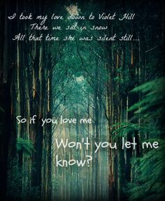 """""""Violet Hill""""-Coldplay"""