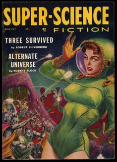 Super Science Fiction ~ Pulp Cover