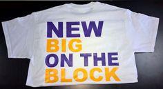 """""""New Big/Lil on the Block"""" T-shirt"""