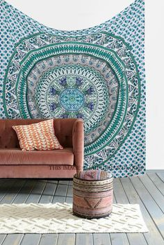 magical night hippie mandala tapestry queen cotton bedding bedspread