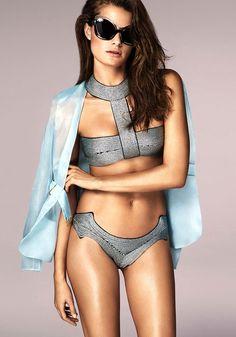 La Perla Swimwear, Bikini, featuring bra with cups or padding Halter Bikini,  Bikinis 8f286d0903f