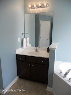 Weu0027ve Made A Change To The Master Bathroom. We Painted The Walls Harmonious  By Behr.