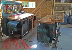 Upcycled Truck Beds, Tractor Kitchens & Dr Pepper Cooler Bars - The Sustainable Home Hub Car Part Furniture, Automotive Furniture, Automotive Decor, Design Furniture, Recycled Furniture, Handmade Furniture, Truck Bed Bar, Barn Wood Decor, Kitchen Island Bar