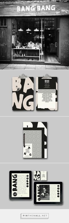 BangBang — Branding on Behance - created via http://pinthemall.net