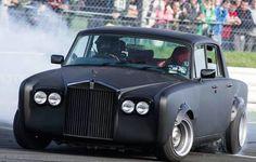 Rolls Royce Silver Shadow drift car
